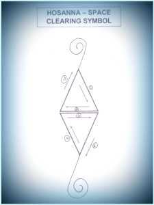 HOSANNA - SPACE CLEARING REIKI SYMBOL
